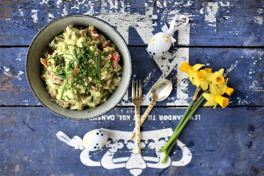 æggesalat med avokado
